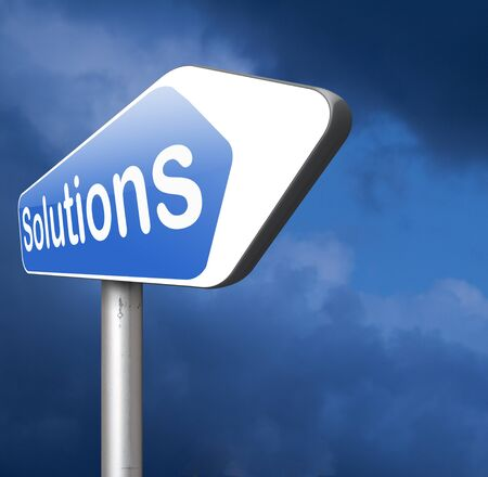 finding: solutions solve problems, problem solving finding answers and search and find a solution Stock Photo