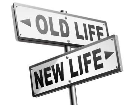 new beginning: new and old life new beginning or start again last chance for you by remake or makeover
