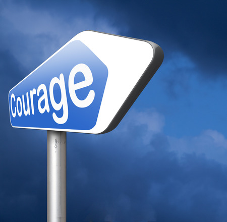 confront: courageous, courage and bravery the ability to confront fear pain danger uncertainty and intimidation fearless