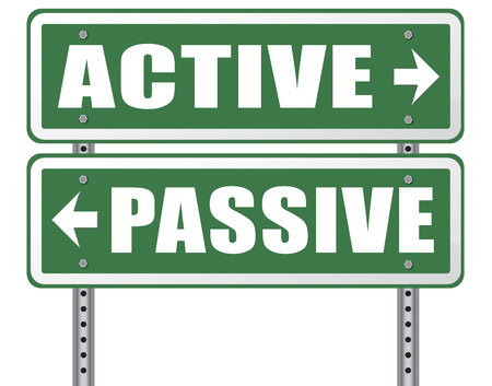 participate: active passive take action or wait taking initiative and participate