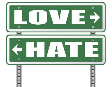carino: amar a las emociones de odio y conexiones intensos sentimientos de afecto agrado o desagrado