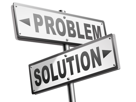 problems: problem solution searching solutions by solving problems road sign