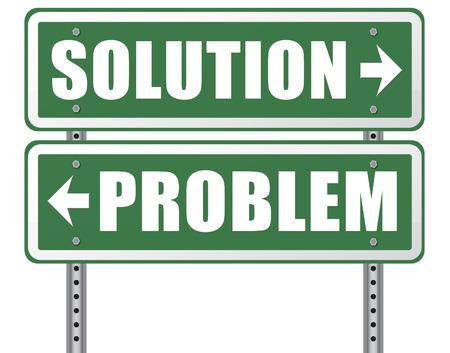 la solution du problème de chercher des solutions en résolvant les problèmes panneau routier