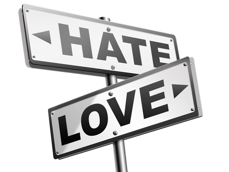 intense: love hate emotions and connections intense feelings of affection like or dislike