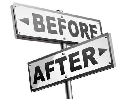 after: before after comparison make a change for the better