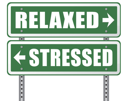 destress: stress therapy and management helps in relaxation reduce tension and relief negativity become relaxed not stressed reduction of negative vibes distressing trough meditation and concentration Stock Photo