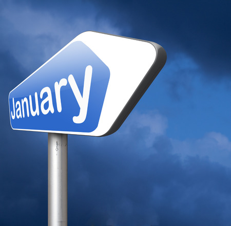 next year: January the first month of the next year in winter season