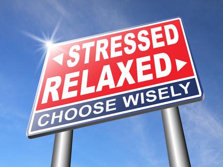 spanning therapie en management helpt in ontspanning te verminderen spanning en opluchting negativiteit ontspannen niet gestresst vermindering van de negatieve vibes schrijnende Stockfoto