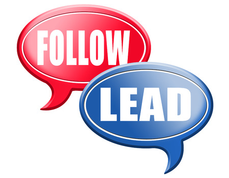 follow the leader: leadership follow or lead following or catch up the natural leader,leaders or followers in business chief in command