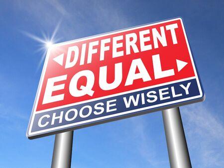 racismo: igualdad de igual o diferente en derechos y oportunidades para todos sin discriminaci�n o racismo abrazo diversidad
