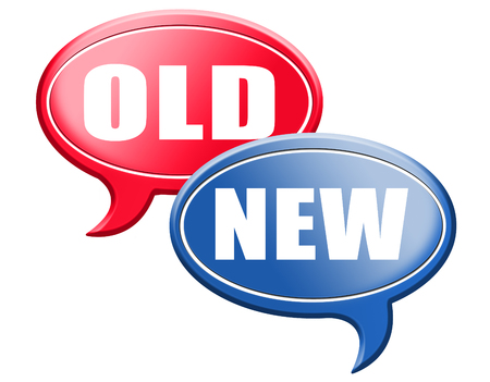 the newest: new old modern or antique latest trend or newest fashion upgrade version