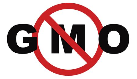 genetically modified crops: no gmo stop genetic manipulated organisms or food engineering