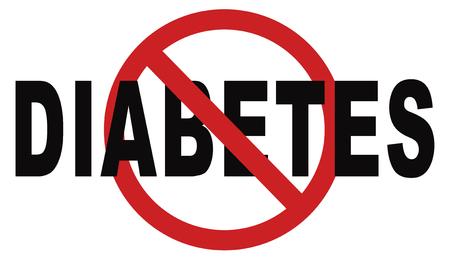 stoppen met diabetes eet minder suiker gaan op een dieet en eet gezond preventie