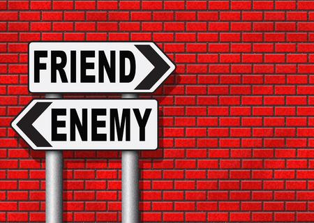 enemy: friend enemy best friends or worst enemies friendship