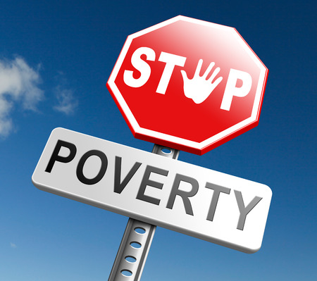 misery: stop poverty give and donate to charity help the poor