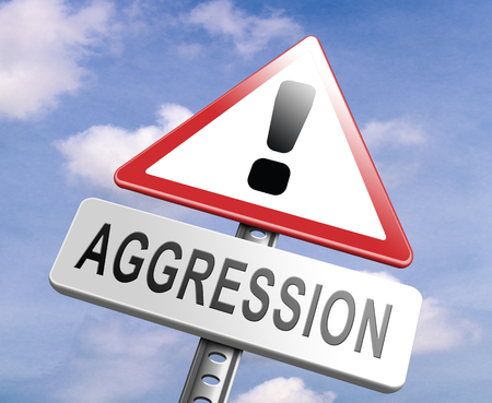 aggression: stop aggression no physical or verbal violance prevention