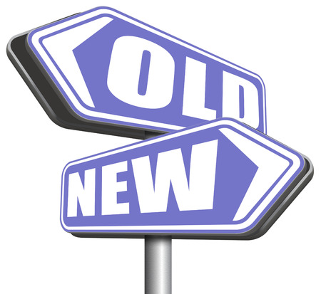 newest: new old modern or antique latest trend or newest fashion upgrade version