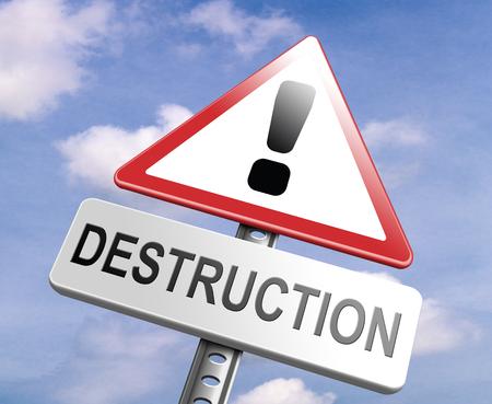 war crimes: Stop destruction pollution deforestation and no global warming save our planet dont destruct life on earth or single ecosystem road sign