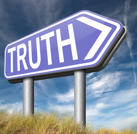 honest: truth be honest honesty leads a long way find justice law and order Stock Photo
