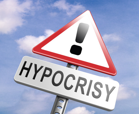falsity: stop hypocrisy having two faces pretending and faking hypocrite