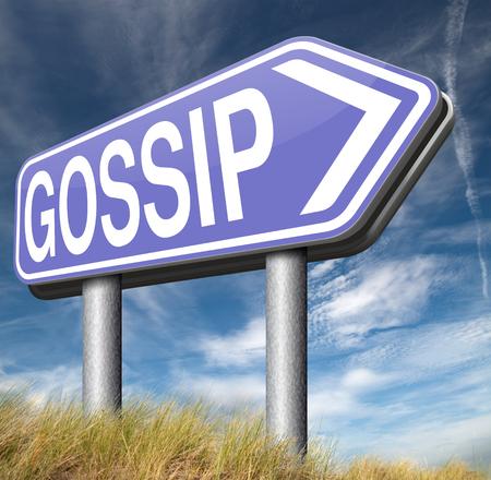 blab: gossip small girl talk and spreading latest rumors