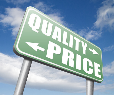 best quality: price quality balance product best value and top or premium qualities cheap road sign