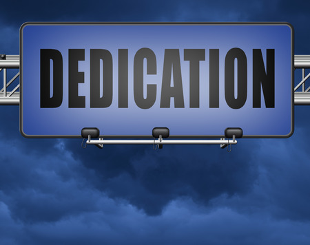 positive: Dedication, motivation and attitude. Motivate self for a job letter a talk or task, yes we can think positive, road sign billboard.