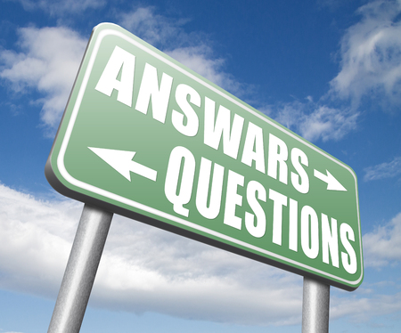 questions answers: questions answers ask the right question and get an answer help or support desk solve problems and find solutions Stock Photo