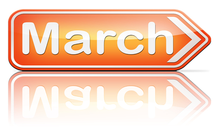 next year: March this or next month of the year early spring event calendar