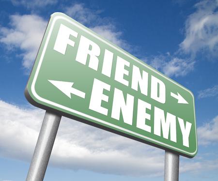 worst: friend enemy best friends or worst enemies friendship