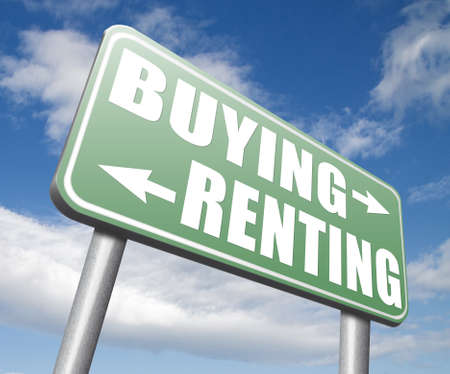 building loan: renting mortgage or bank loan for home ownership rent or buy a house a flat building or property