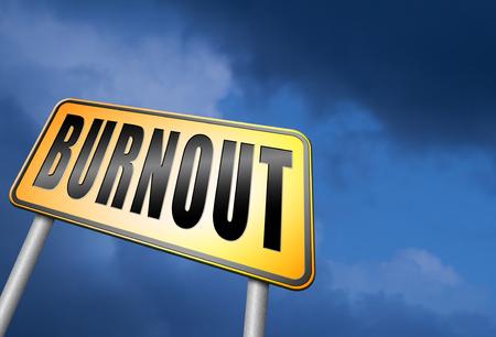 burnout: Burnout road sign