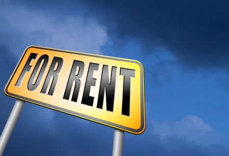 room to let: For rent road sign
