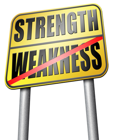 overcome: strength versus weakness strong or weak overcome problems by being strong and not weak accept the challenge to success