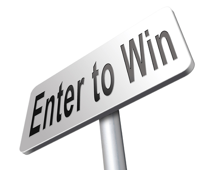 enter to win game contest lottery or competition.
