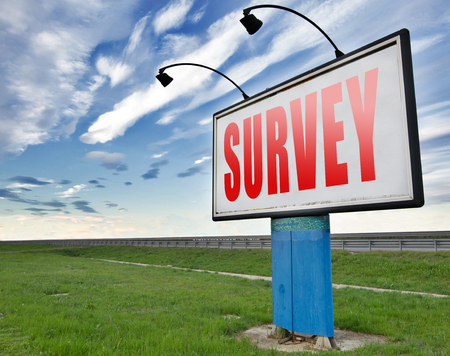 questionnaire: Survey feedback sign online checklist and satisfaction questionnaire