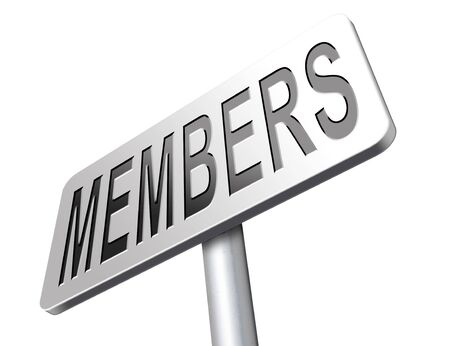 vip area: members only membership required restricted area only for VIP