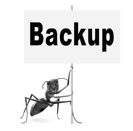 archiving: Backup data and software on copy in the cloud on a harddrive disk on a computer or server for files security. Data archiving and file transfer.