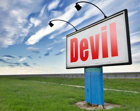 infierno: Diablo satan mal quemar en el infierno