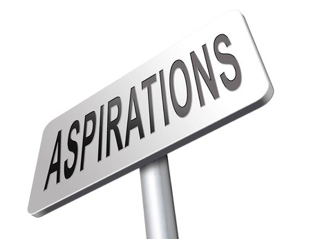 achieving: Aspirations and future goals and ambition, achieving target goal.