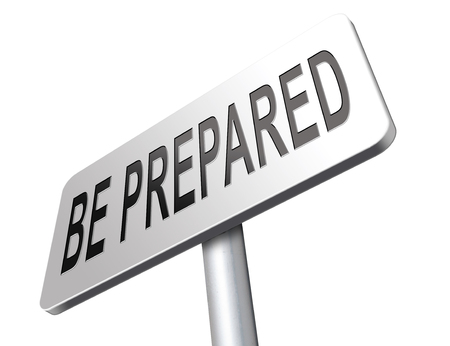 the worst: Be prepared for the worst and ready before the big change. Are you ready, it is time to plan ahead and in advance.