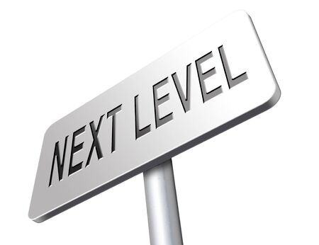 rise to the top: next level in gaming, play game button or icon higher difficult levels