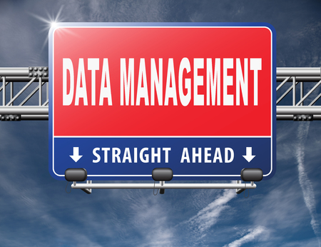 data management: data management storage analysis and integration of big data Stock Photo
