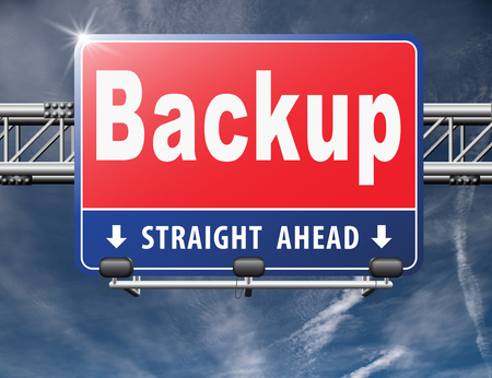 data archiving: Backup data and software on copy in the cloud on a harddrive disk on a computer or server for files security. Data archiving and file transfer.