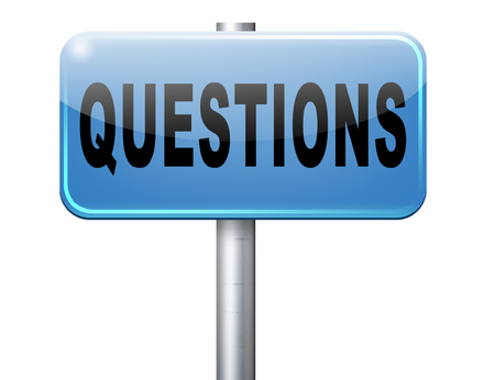 support desk: questions and solutions need serious answers helps or support desk information answer question with text and word concept