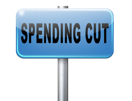 cost savings: Spending cut lower budgets and public spendings cuts economic recession