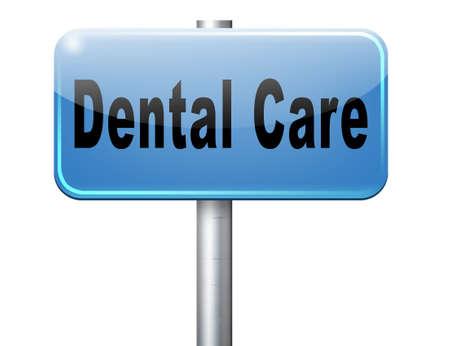 higiene bucal: centro de cuidado dental higiene bucal o cirug�a para la salud de los dientes sin caries, pero con una hermosa sonrisa con el texto, cartelera se�al de tr�fico.