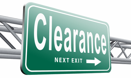grand sale icon: clearance road sign billboard.