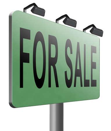 room to let: for sale road sign billboard.