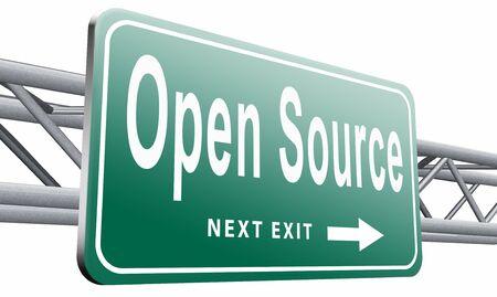 source: Open source road sign billboard.
